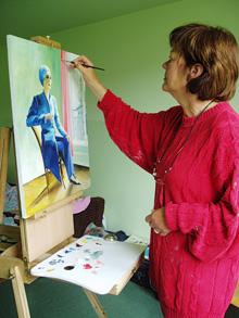 Elly schildert